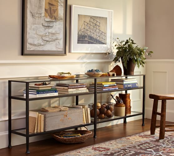 Merveilleux Tanner Long Console Table | Pottery Barn