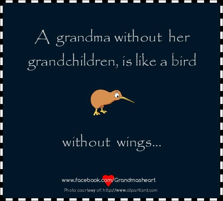 So true!  Grandbabies are so wonderful!!!