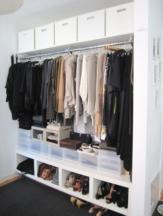 clothes closets penderie toute longueur rangement chaussure et vetements rangements. Black Bedroom Furniture Sets. Home Design Ideas