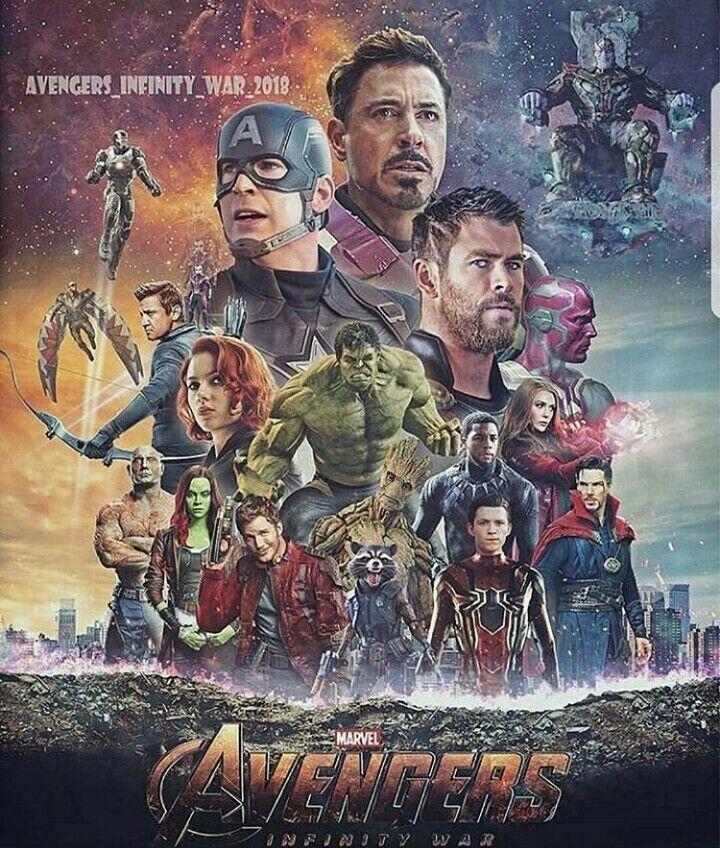 Avengers Infinity War Fan Art Nerd Filme Marvel Und Plakat