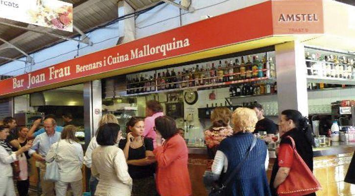 Joan Frau Mercado de Santa Catalina #mercados