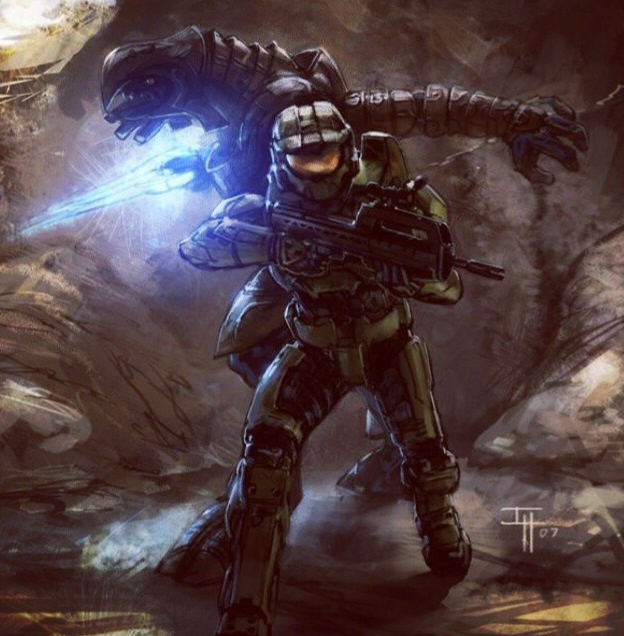 Master Chief And Arbiter Halo 5