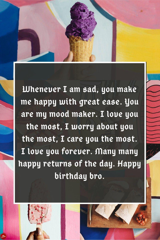 Happy Birthday Brother Quotes in 2020 Happy birthday
