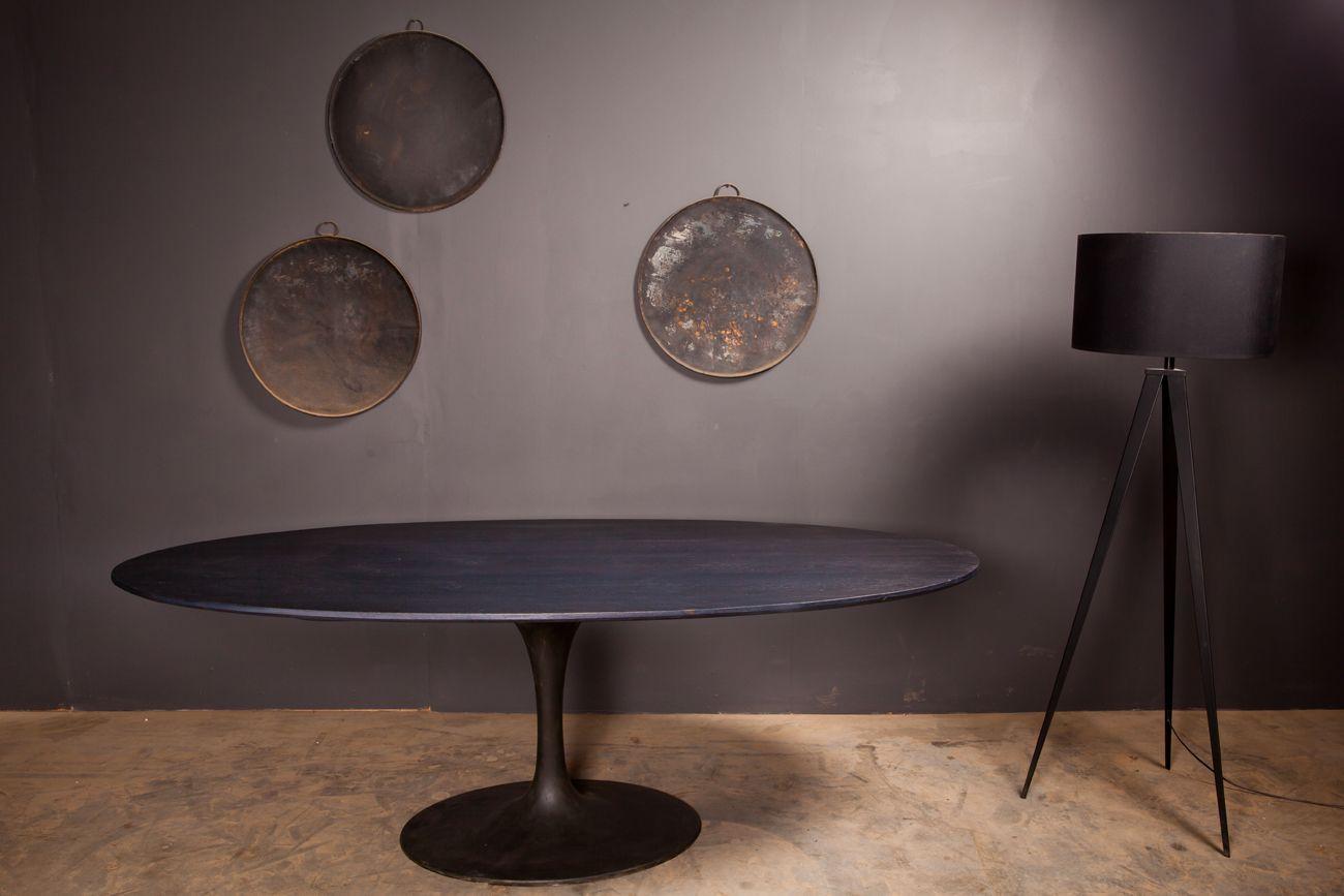 Arnold De Vinck L Atelier Table Inspiration Ovale 1 Pied Table Salle A Manger Salle A Manger Table A Manger