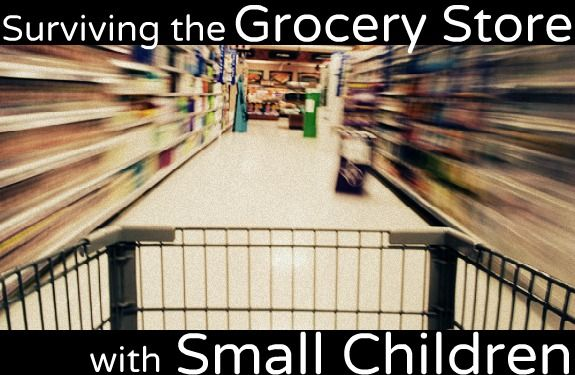 Tips for Surviving the Grocery Store with Small Children
