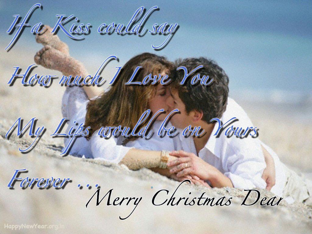Romantic Christmas Wishing Greeting Cards For Boyfriend Girlfriend