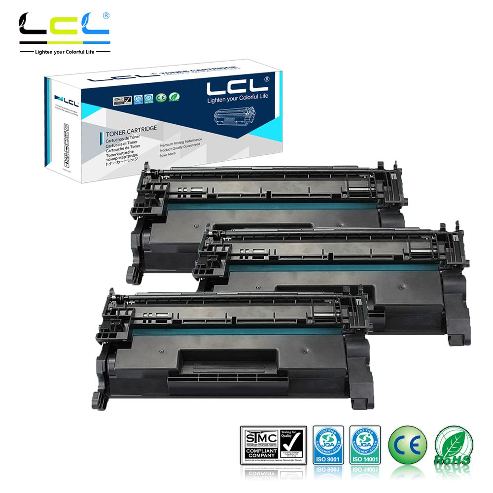 Lcl 26a 26x Cf226a Cf226x 9000 Pages 3 Pack Black Toner