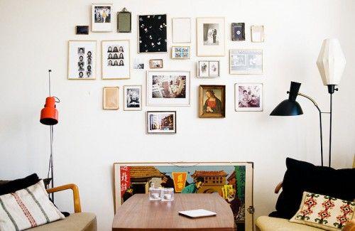 Decoracion departamentos pequeños Decoraciones Pinterest Salas