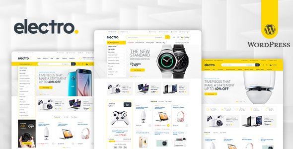 Electro v1.4.3 Electronics Store WooCommerce Theme Blogger Template ...