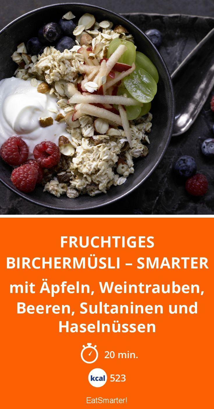 Fruchtiges Birchermüsli Smarter Rezept Lecker Healthy