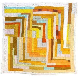 Color Study: Log Cabin 2 ~ 2007 Sherri Lynn Wood