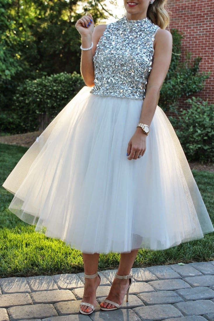 Bedazzles After Dark: Outfit Post: Sequins and Tulle | street style ...