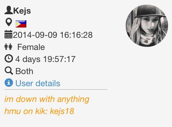 18 kik users