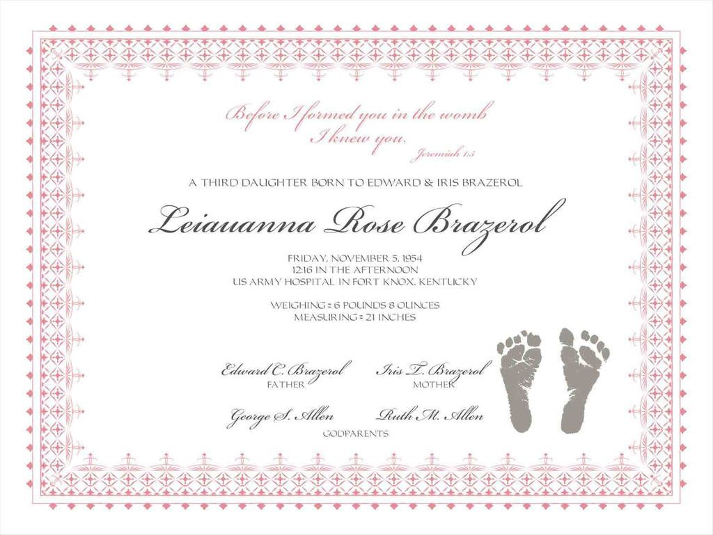 Beautiful Ky Birth Certificate Order Form Models Form Ideas Inside Fake Birth C Birth Certificate Template Baby Dedication Certificate Fake Birth Certificate