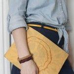 envelope clutch pattern - see kate sew
