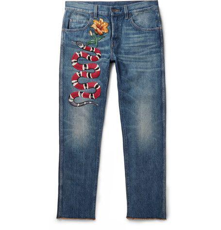 Erkunde Dünne Jeans Der Männer und noch mehr! GUCCI Slim-Fit ...