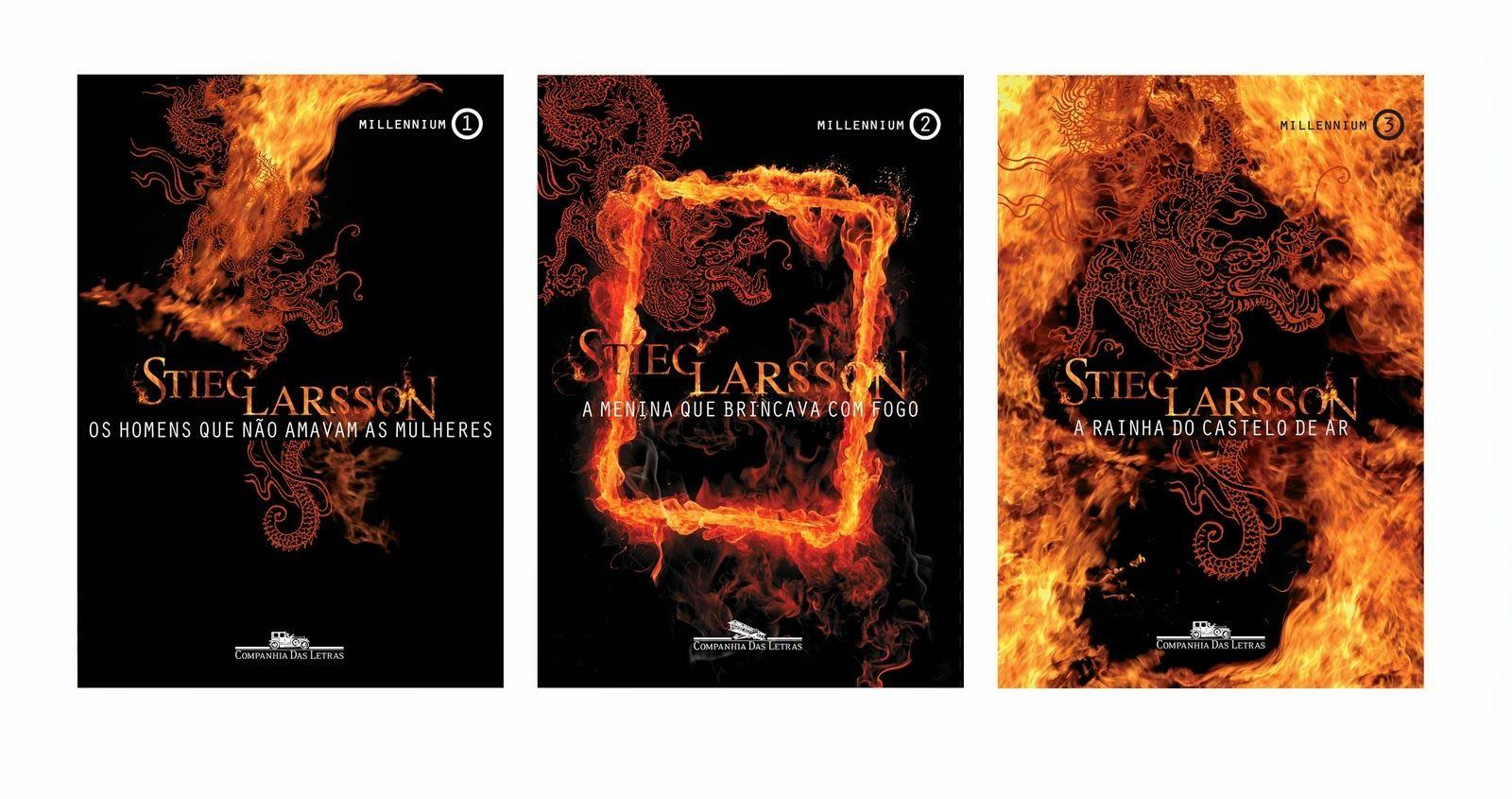 Pin De Andreia Zanini Em Livros Stieg Larsson Trilogia Livros