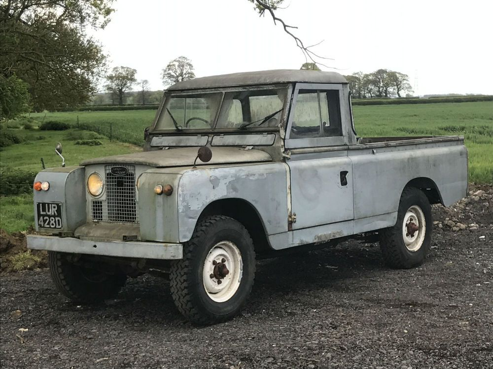1966 LandRover Series 2 2.25 Petrol Pickup. Runs And