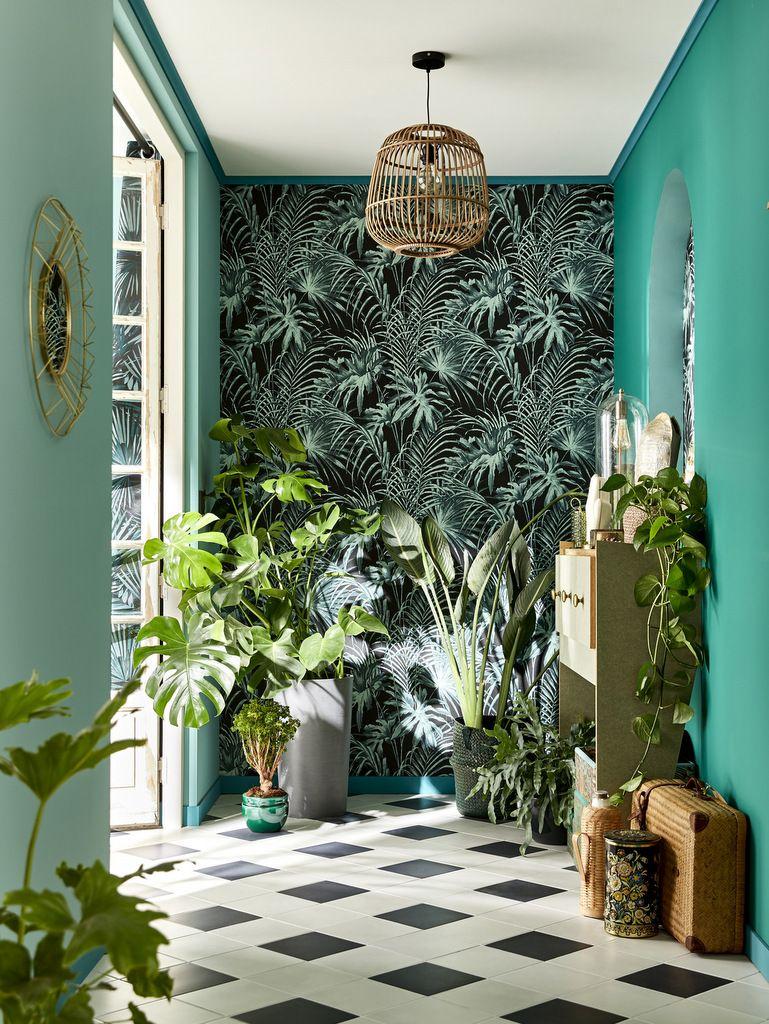10 Inspirations Deco Couleur Bleu Canard Plantes De Decor De