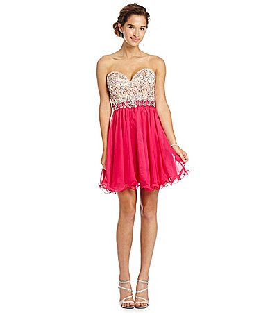 ced30e28fa9 Mac by duggal sweetheart intricate bodice party dress dillards homecoming  queen dresses also best images evening