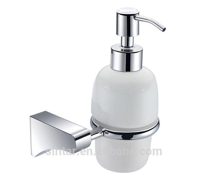 Auto Liquid Soap Dispenser With Foam Pump In Gl