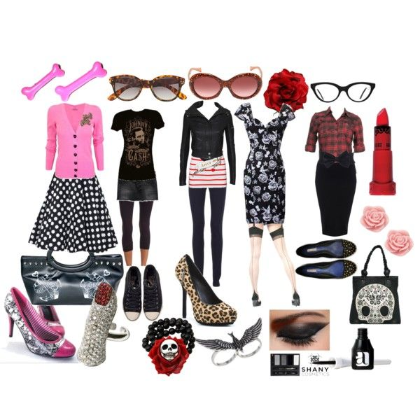 rockabilly inspiration, created by missvincent
