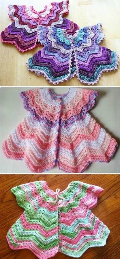 Free Baby Crochet Patterns Best Collection | Bebé, Bebe y Vestidos ...