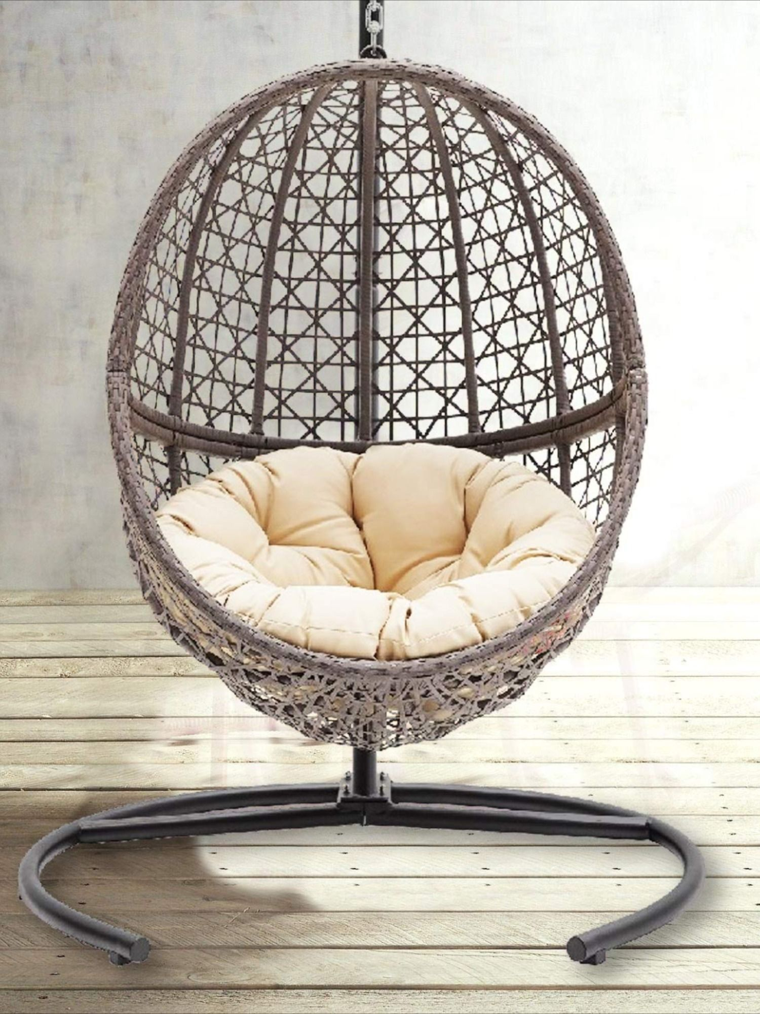 wicker swing chair on wicker hanging egg chair swing with tan tufted cushion and stand diy hanging chair hanging chair hanging egg chair wicker hanging egg chair swing with tan