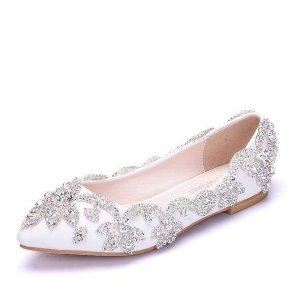 Popular Pointed Toe Wedding Flats | Bridelily