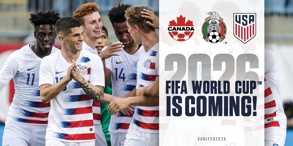 United 2026 United2026 Twitter The Unit 2026 Fifa World Cup Tech Company Logos