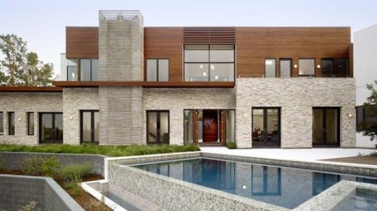 Contemporary mediterranean house designs