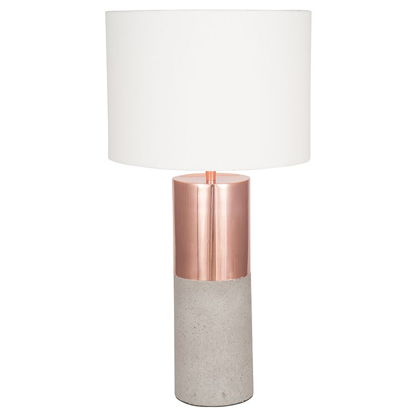 Creative Home Company Axel Concrete Table Lamp 9999 http