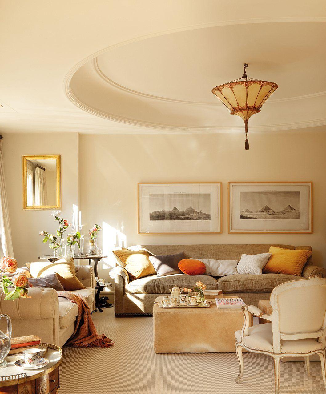 Un plus de nobleza en un piso de madrid cl sica - Decoracion interiores madrid ...
