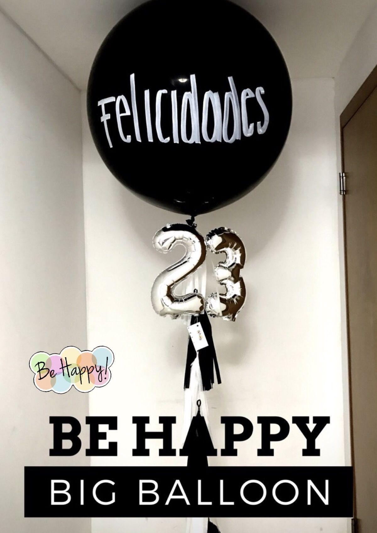 Big Balloons Globos Pinterest Cumpleanos Globos Y Fiesta - Globos-personalizados-cumpleaos