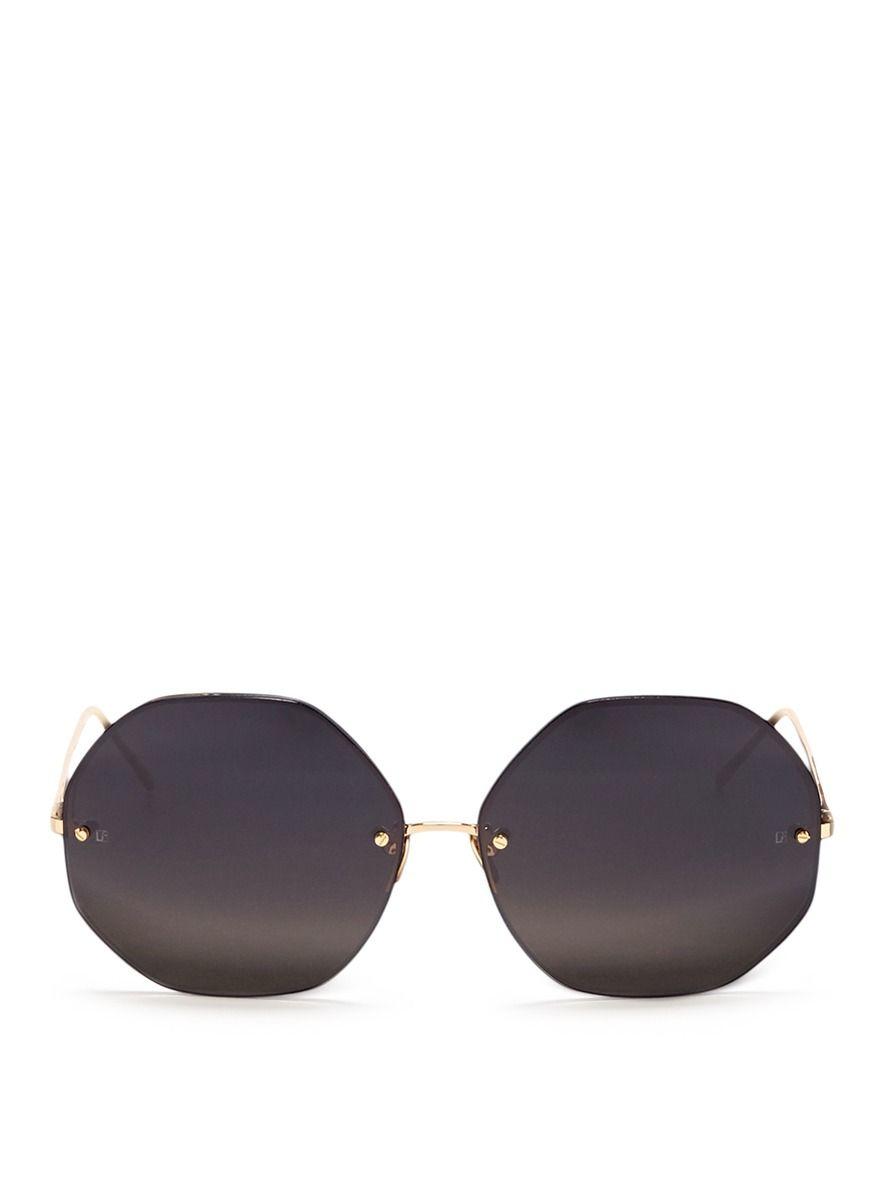 337ccae27842 Click To Zoom Linda Farrow Sunglasses