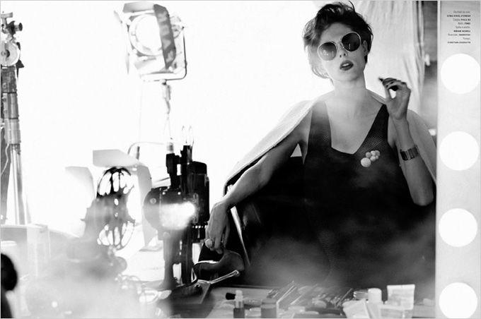 Coco Rocha for LOfficiel Italia