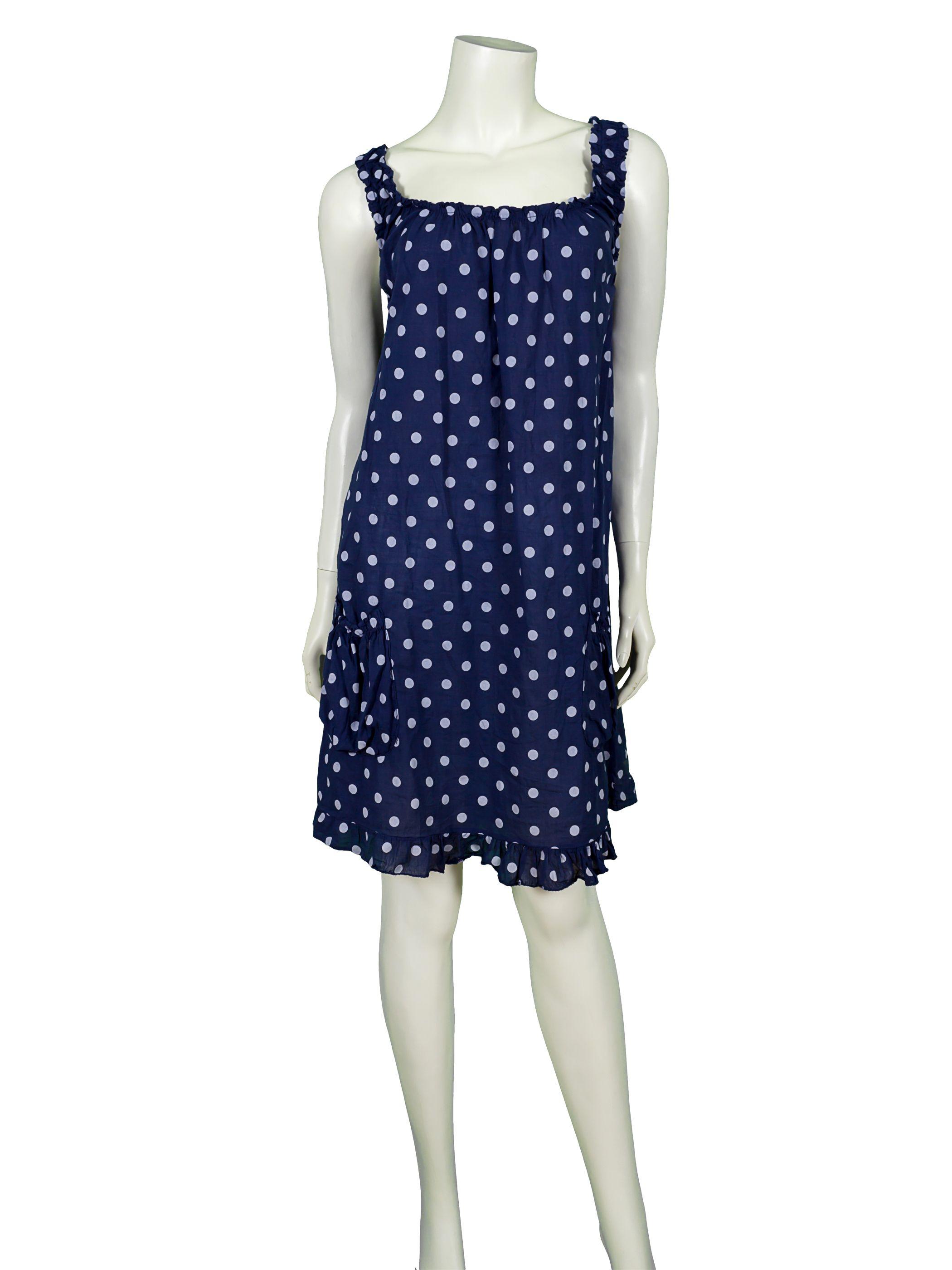 keid mit punkten, blau bei meinkleidchen kaufen | kleider