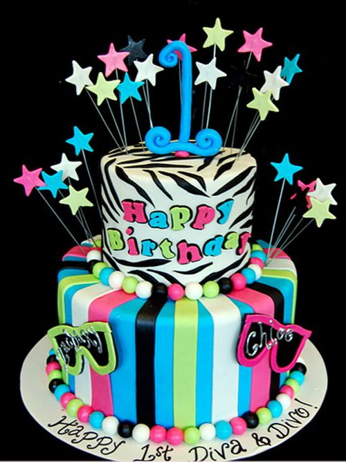 funny 1st birthday cake for girls Birthday Cake Ideas for Girls