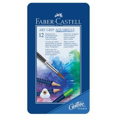 #Pastelli #Colorati #ARTGRIP #Aquarelle #FABERCASTELL
