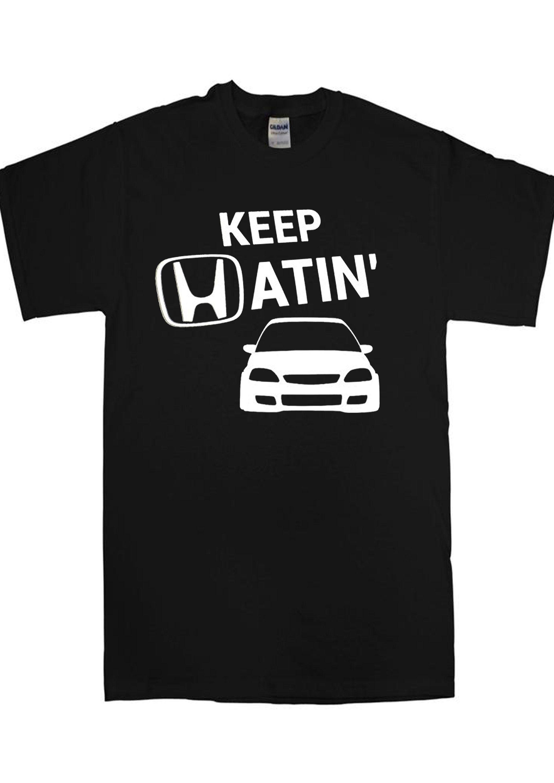 Keep Hatin/' car jdm vinyl sticker decal Car suv Honda
