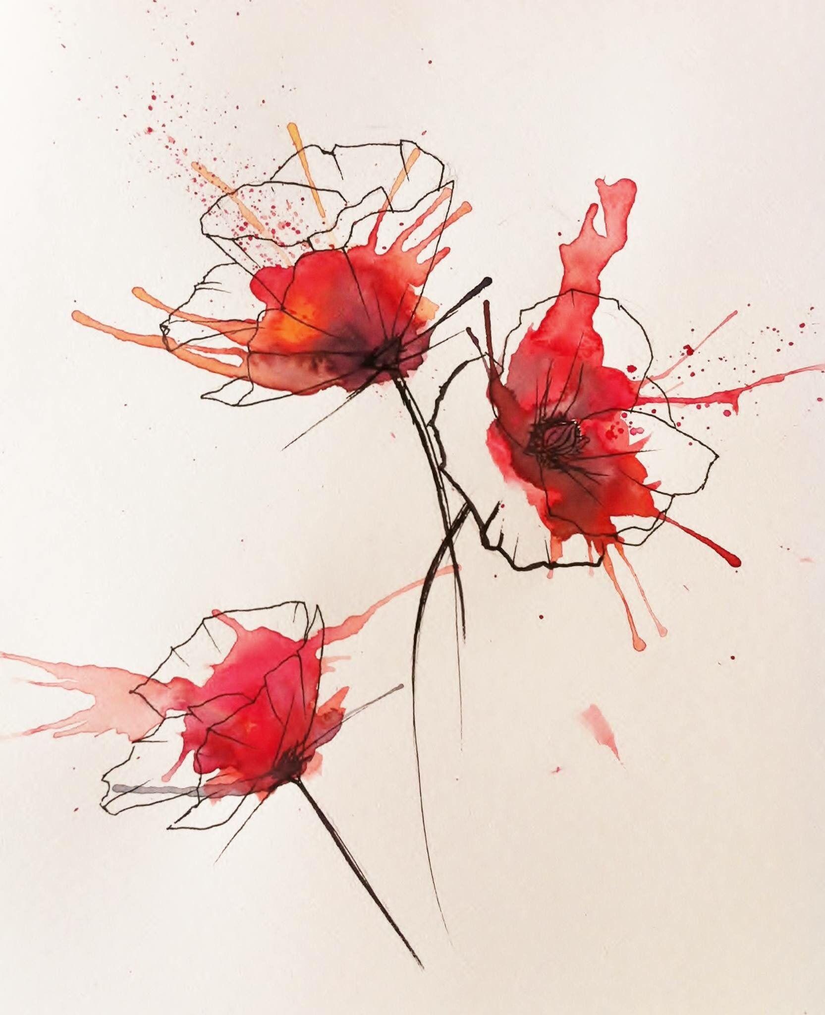 Epingle Par Dogapo Sur Peinture Avec Images Idees D Aquarelle
