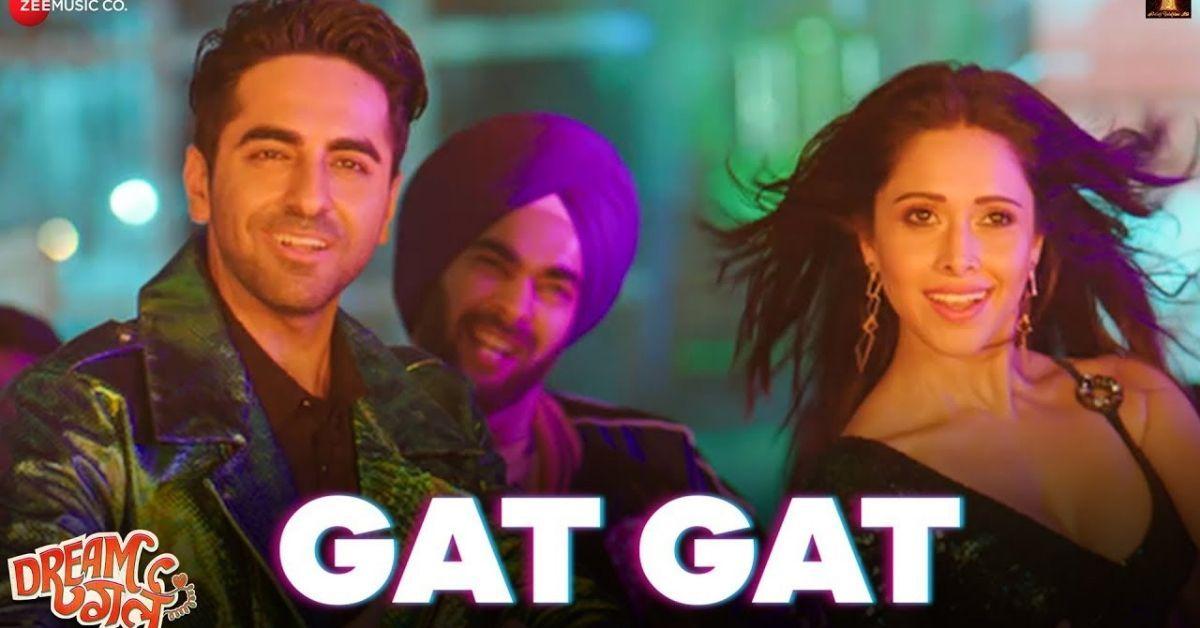 Ayushmann Khurrana And Nushrat Bharucha Starrer Dream Girl Song Gat Gat Is A Groovy Track Ayushmann Khurrana Dream Girl Nushrat Bha Bollywood Papa In 2019