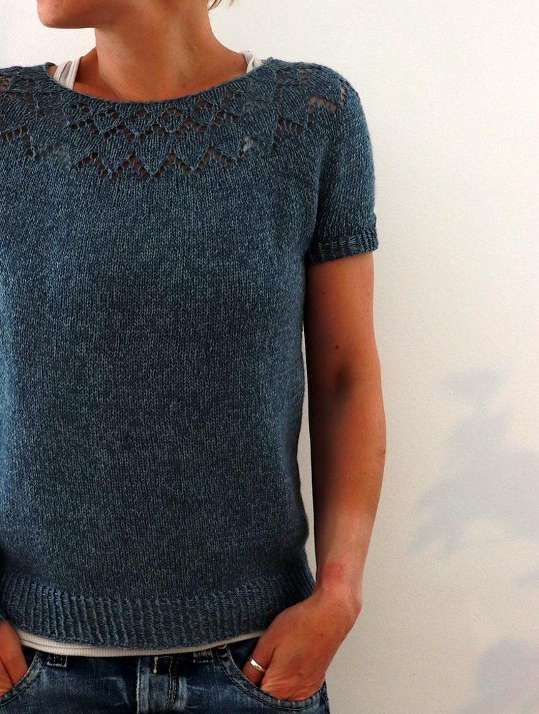 Yume Knitting pattern by Isabell Kraemer Summer knitting