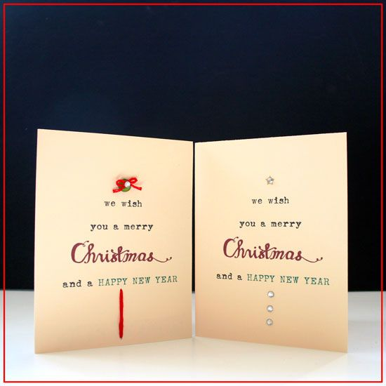 Cute Christmas Card Printable At: Http://www