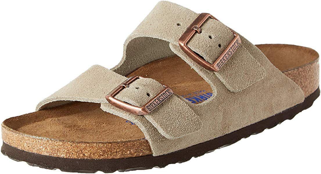 Birkenstock Arizona Sfb, Women's Heels Sandals, Beige (Taupe