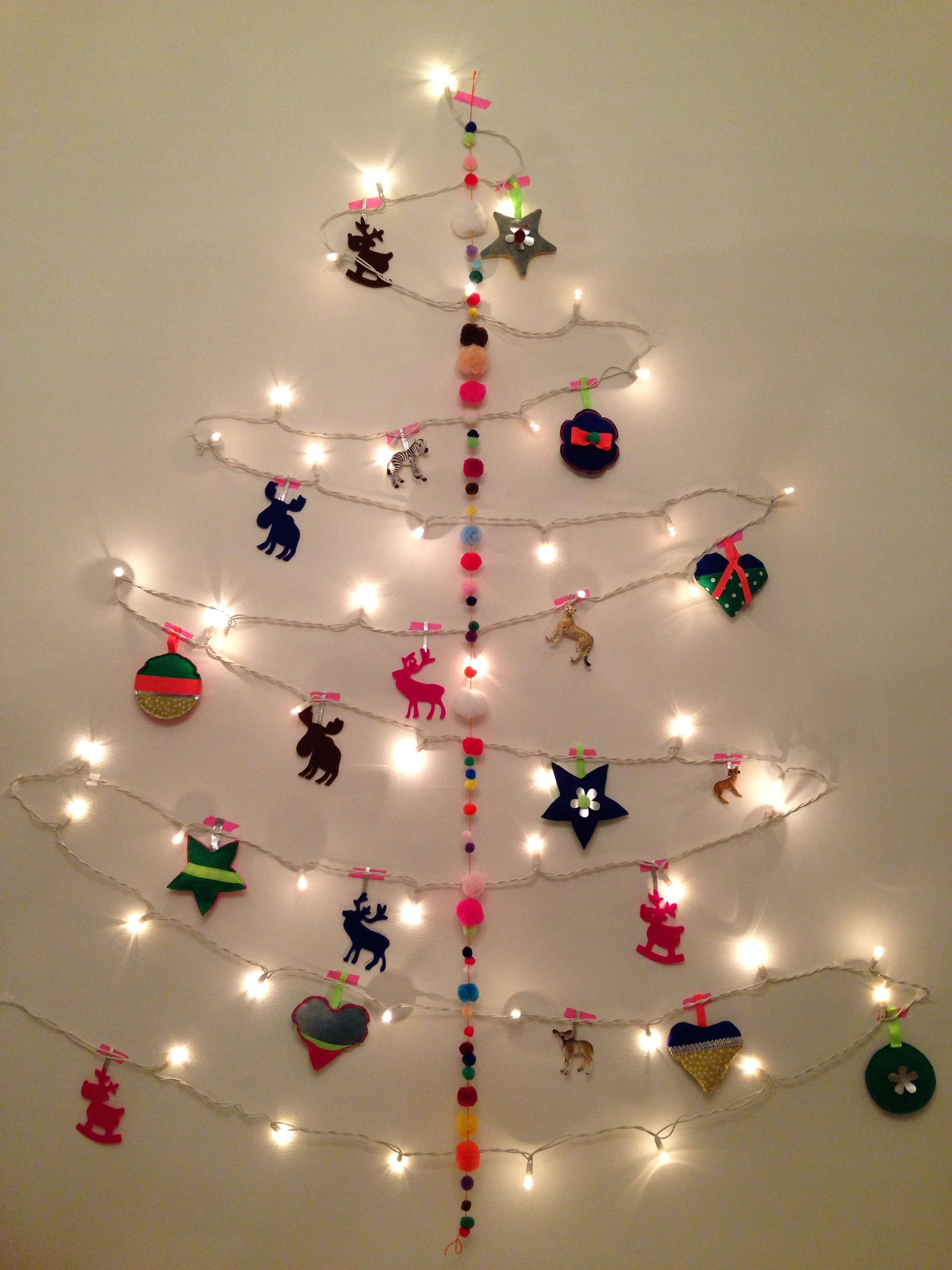 Christmas wall tree by Q design
