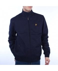 3e42b7d6d616 Mens Lyle & Scott Navy Harrington Jacket | Gifts | Harrington jacket ...