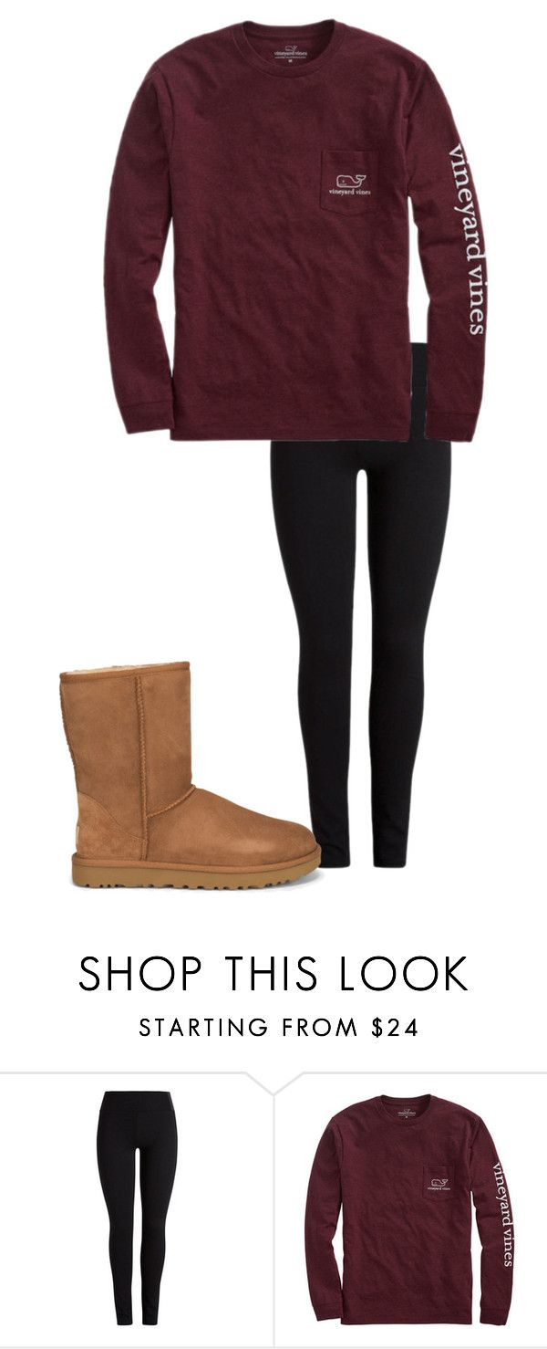 """""""October 14"""" by megaspirit on Polyvore featuring Vineyard Vines and UGG"""