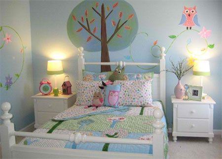Cute Owl Theme Room Owl Bedroom Decor Owl Bedrooms Bedroom Themes