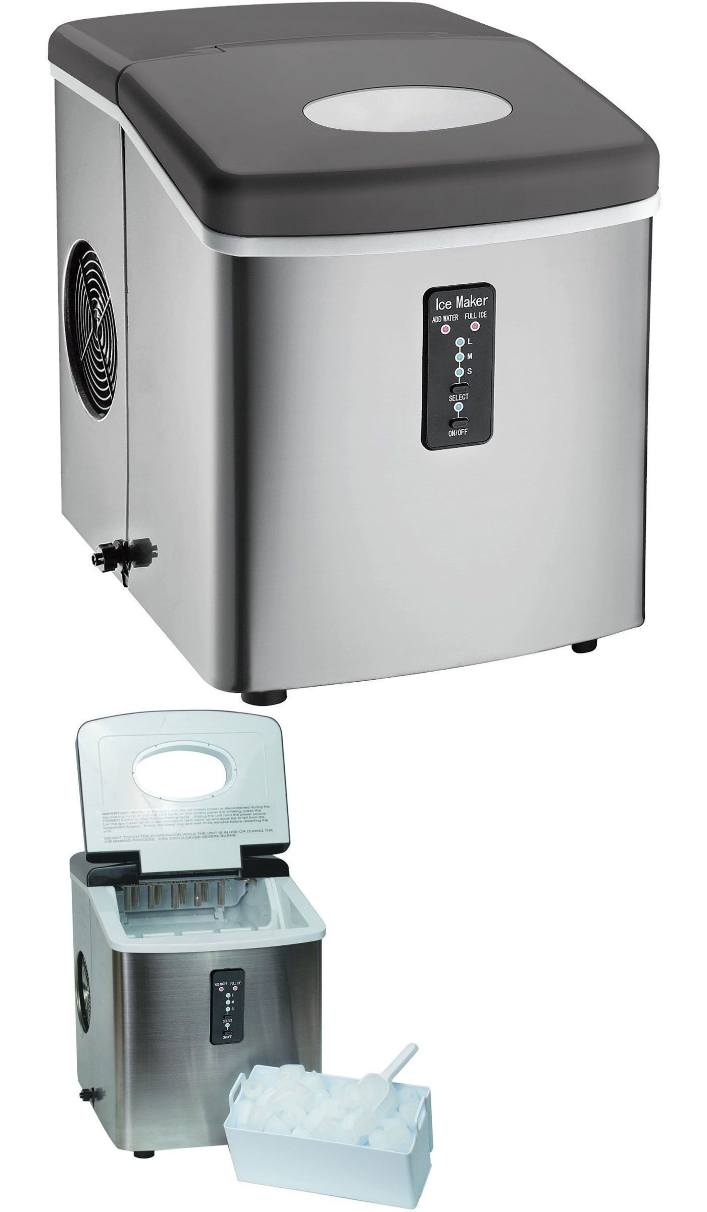 Countertop Ice Makers 122929 Igloo Ice103 Countertop Ice Maker
